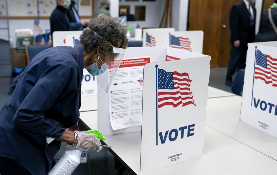 Virginians Cast Their Ballots On Last Day Of Early Voting