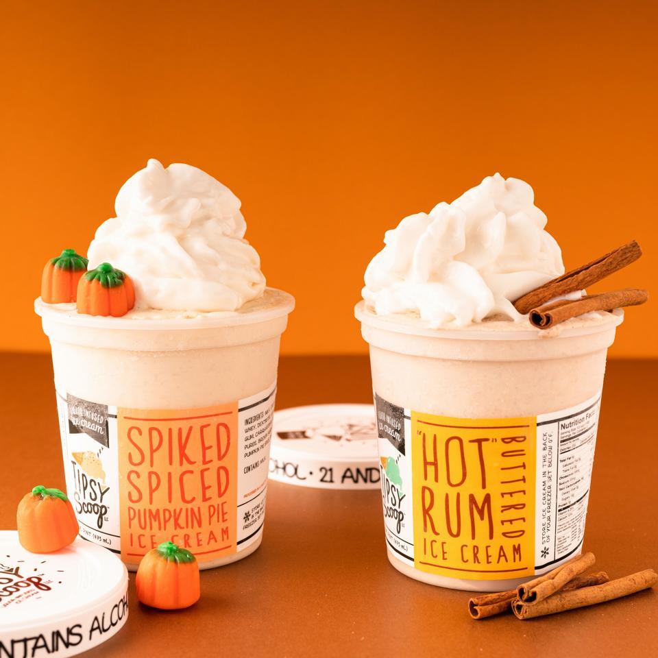 Tipsy Scoop Fall Favorites Boozy Ice Cream