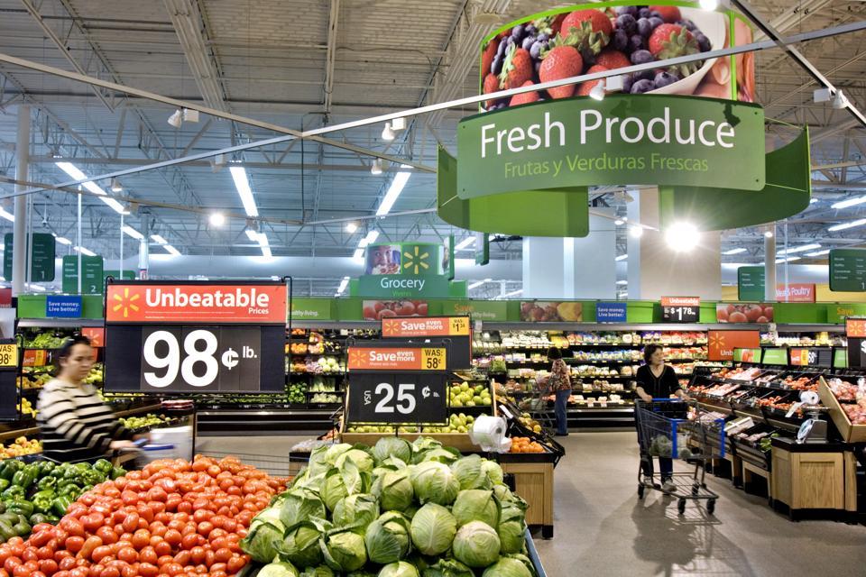 Walmart Fresh Produce