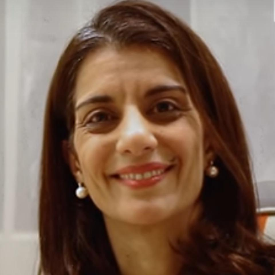 International Civil Society Action Network (ICAN) Founder and CEO, Sanam Naraghi Anderlini.