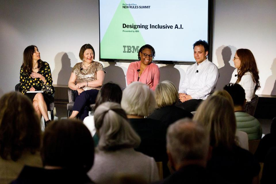Hodge at a recent speaking engagement