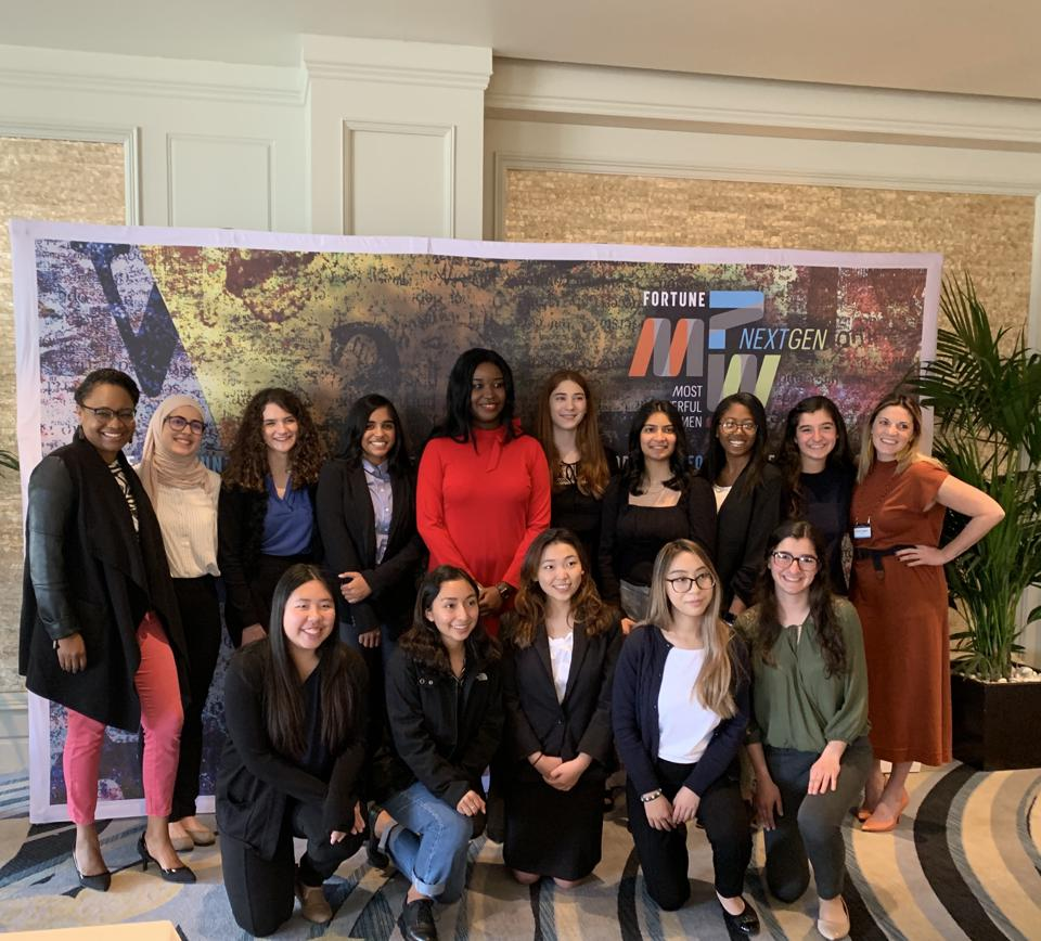 Hodge at Girls, Inc Mentoring Event