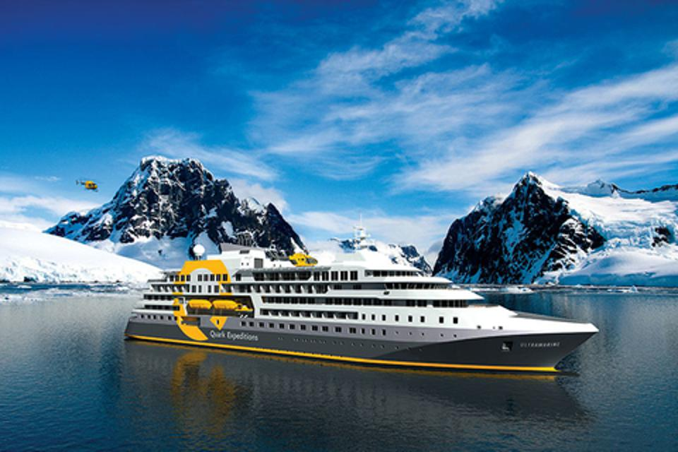 Quark Expeditions newest luxury expedition ship Ultramarine