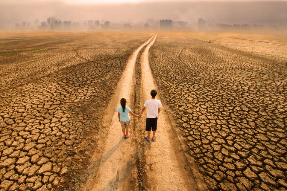 Climate change and Children future