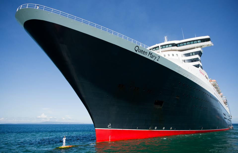 The Cunard Queen Mary 2