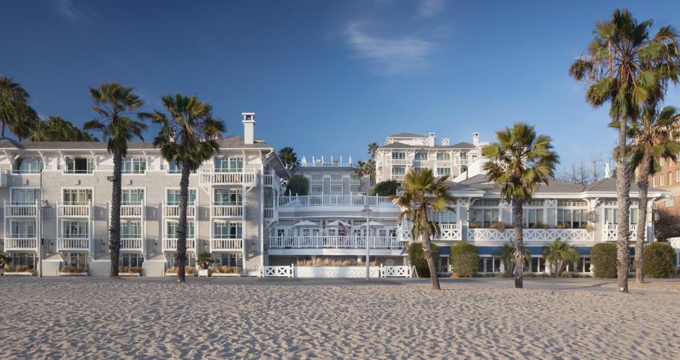 Santa Monica beach hotel