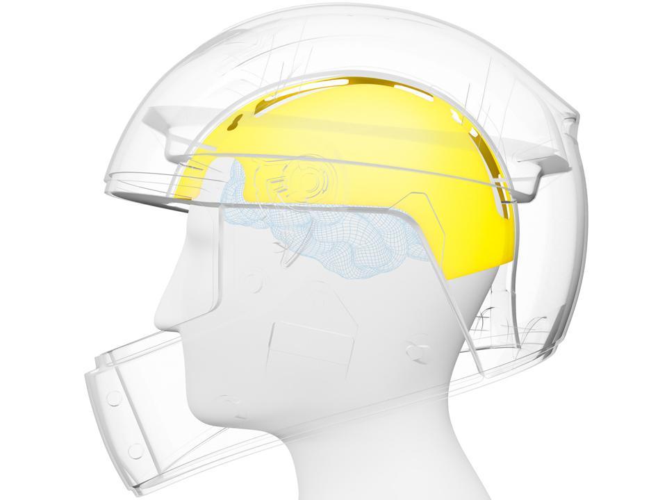 MIPS 3D helmet render
