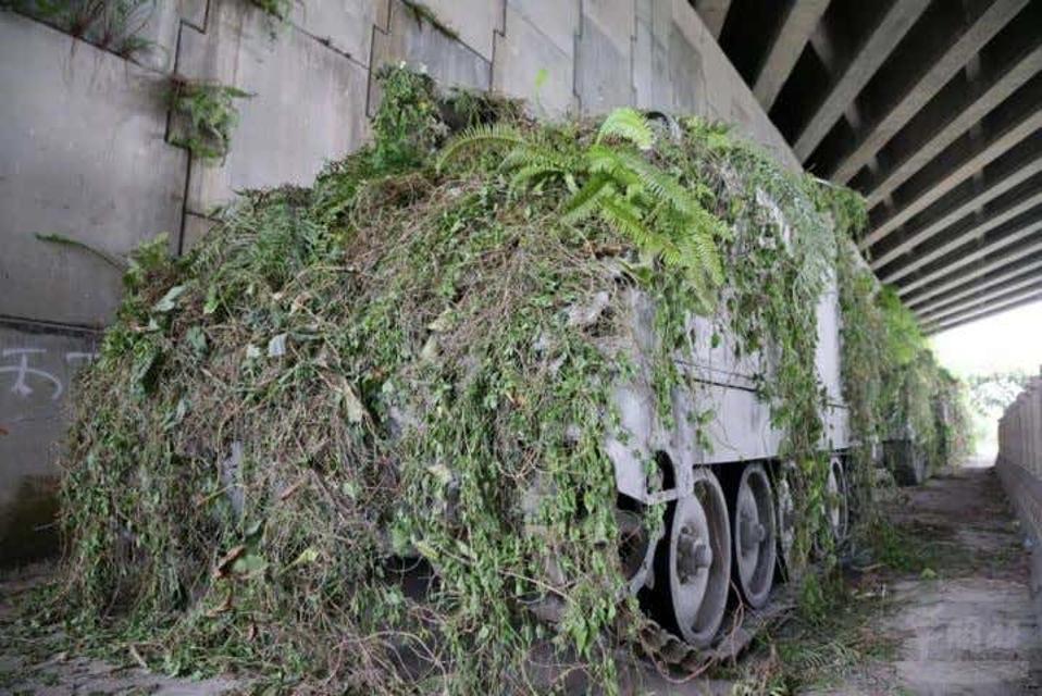 Hidden armored vehicles