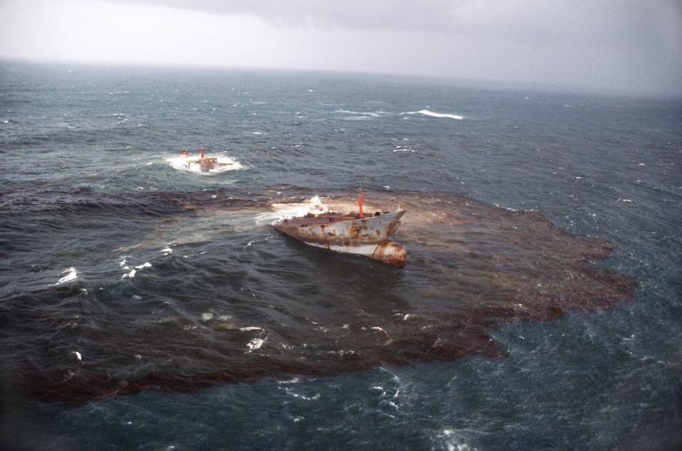 Cedre was set up following the Amoco Cadiz oil spill off the coast of France. At the time, the Liberian tanker's spill was the worst in the world.