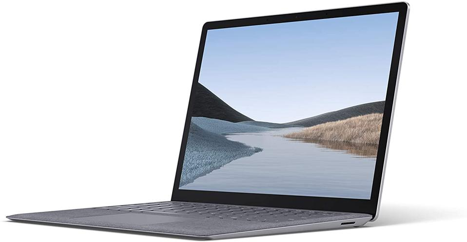 Microsoft Surface Laptop 3 – 13.5″ Touch-Screen – Intel Core i7 - 16GB Memory - 256GB Solid State Drive (Latest Model) – Platinum with Alcantara