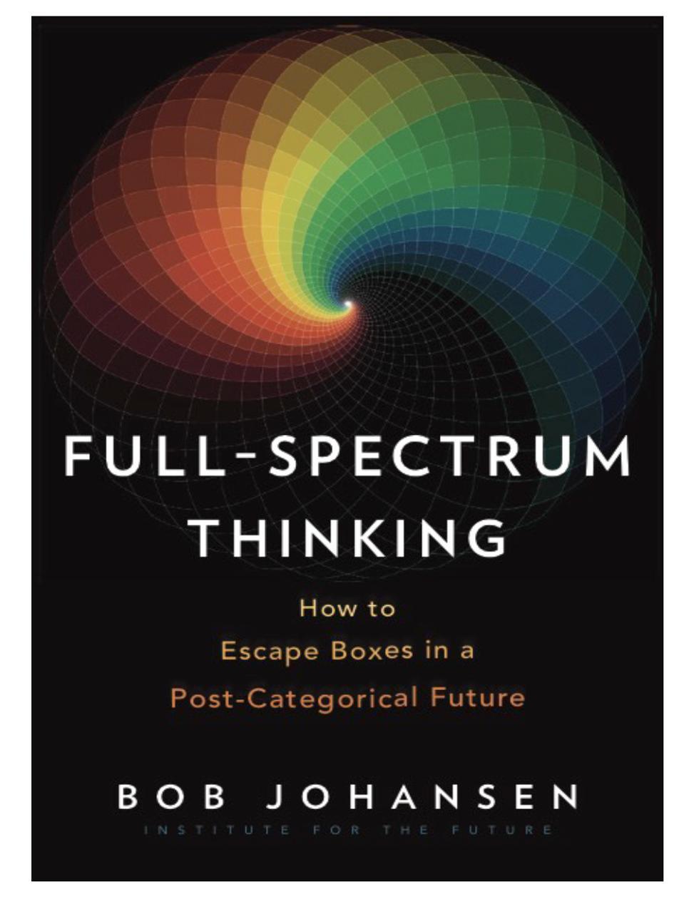 Full-spectrum thinking book