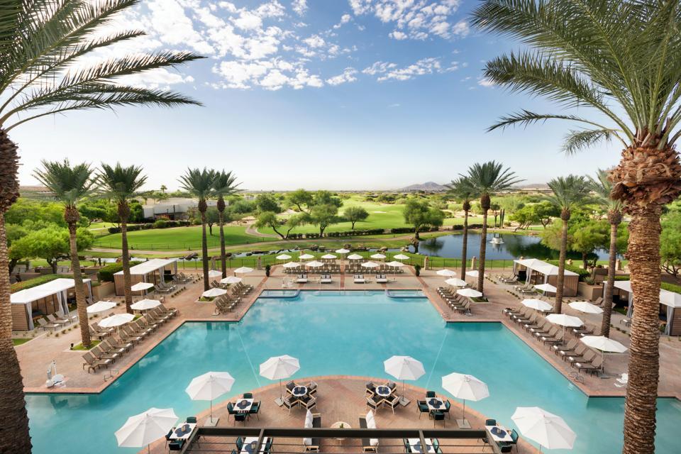 The Princess pool at Fairmont Princess Scottsdale
