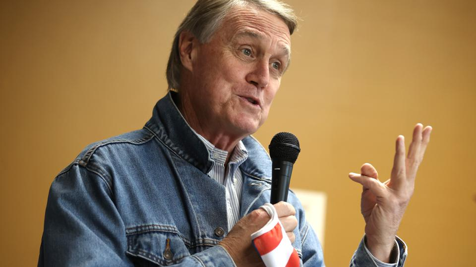 GOP Senate Candidate Sen. David Perdue Campaigns In Georgia Ahead Of Election