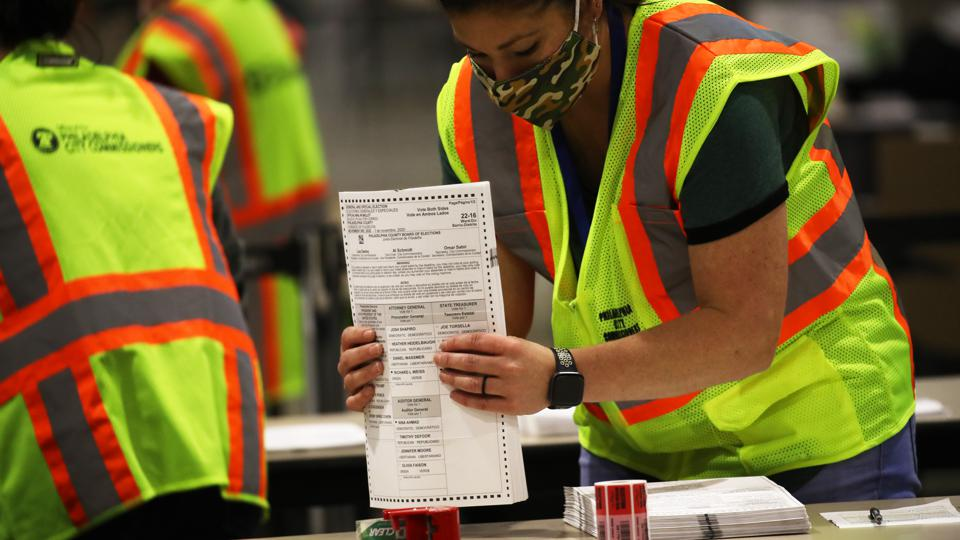 Pennsylvania Continues To Count Ballots Day After Election