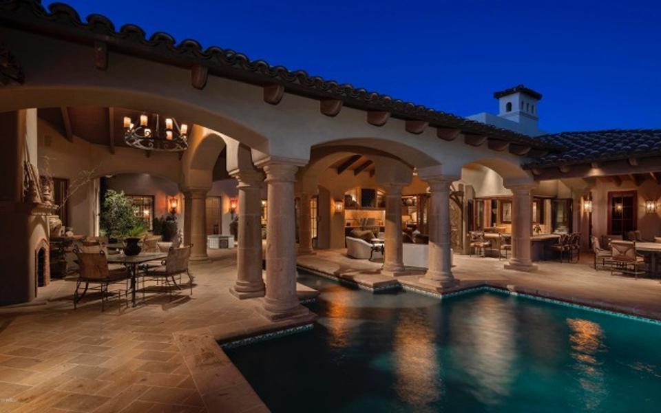 A house in the Whisper Rock Estates community of Scottsdale, Arizona.