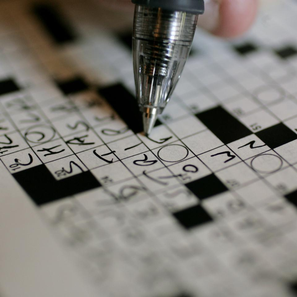 Crossword puzzles attract consumers to pay for the content.