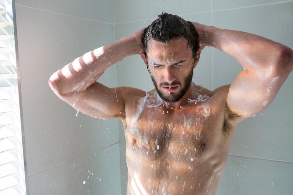 Shock, anaphylactic shock, shower