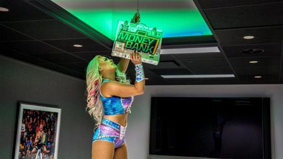 Dana Brooke seemed to capture the Money in the Bank briefcase during a cinematic match this past May.