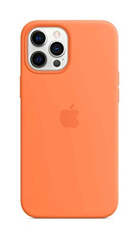 Apple silicon case in kumquat