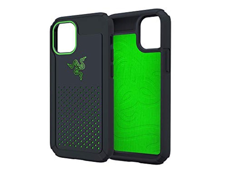 Razer arctech pro case black and green
