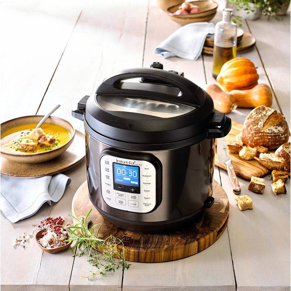 Instant Pot Duo™ Nova™ Black Stainless Steel 6-Qt. 7-in-1 One-Touch Multi-Cooker