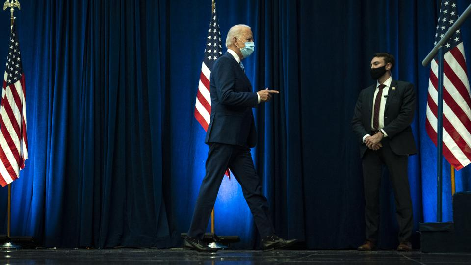 Democratic Presidential Nominee Joe Biden Speaks Day After Election Day, As Results Still Await