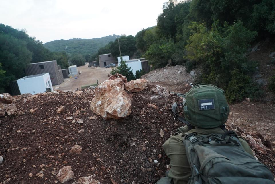 Israel Army, Israeli Defense Forces, Galilee Forests, Lebanon, Israel, Hezbollah