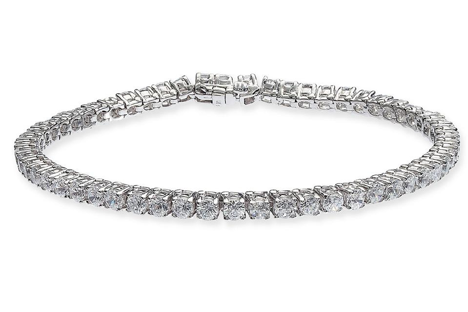 Diamond Tennis Bracelet in 14k White Gold