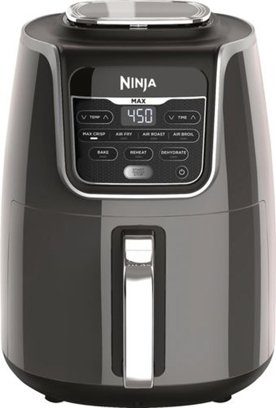 Ninja - 5.5qt Air Fryer - Gray