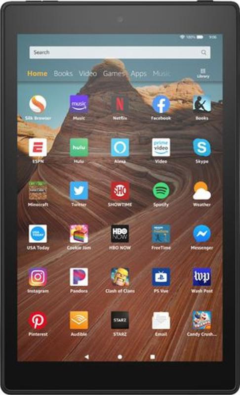 Amazon - Fire HD 10 2019 release - 10.1″ - Tablet - 32GB - Black