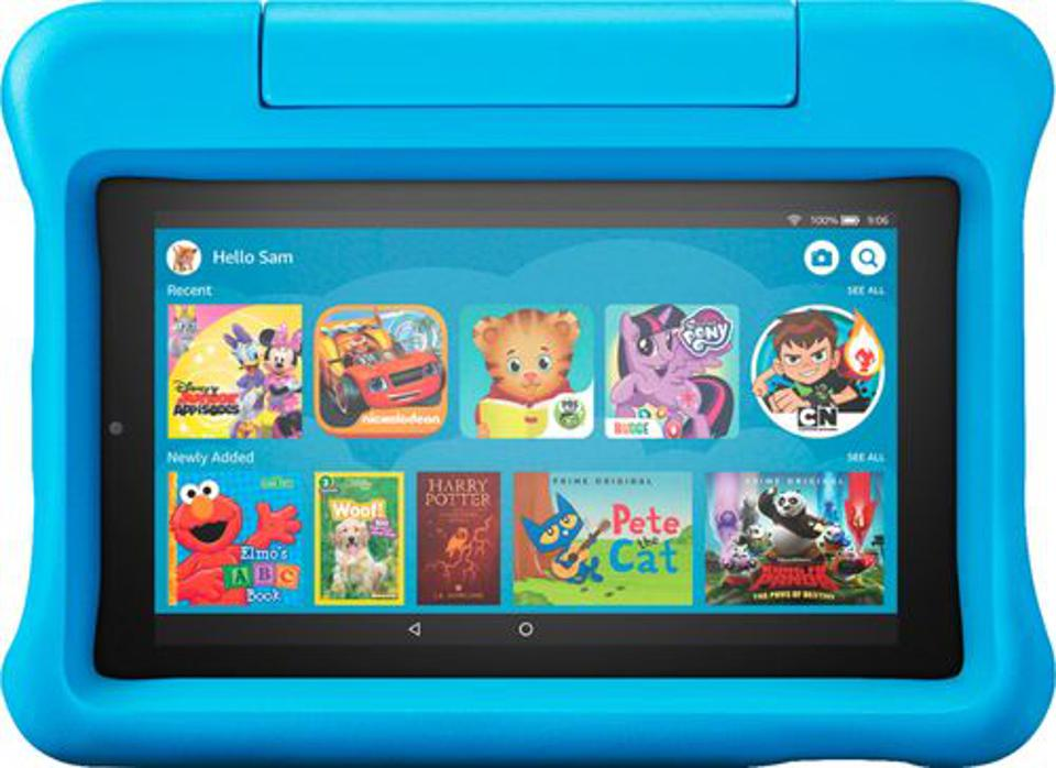 Amazon - Fire 7 Kids Edition 2019 release - 7″ - Tablet - 16GB - Blue