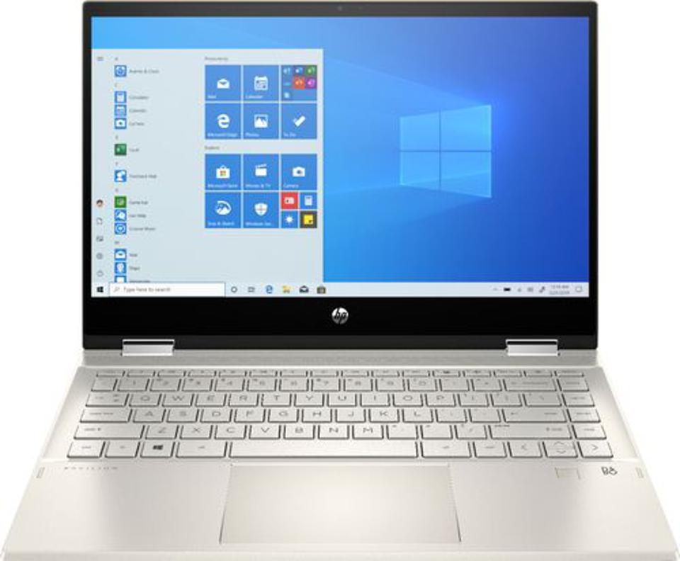 HP - Pavilion x360 2-in-1 14″ Touch-Screen Laptop - Intel Core i5 - 8GB Memory - 256GB SSD - Warm Gold