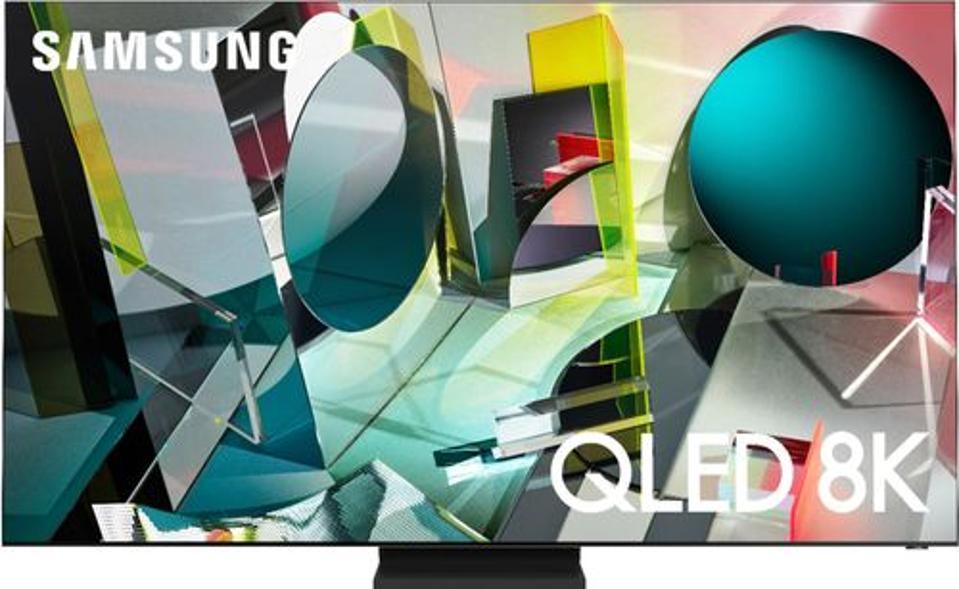 Samsung - 85″ Class Q900TS Series LED 8K UHD Smart Tizen TV