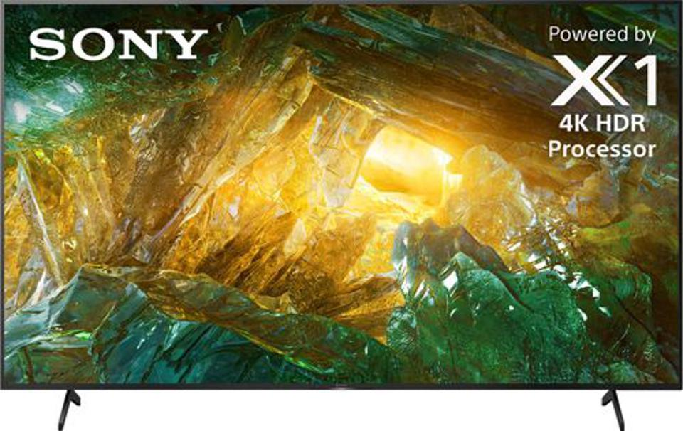Sony - 85″ Class X800H Series LED 4K UHD Smart Android TV