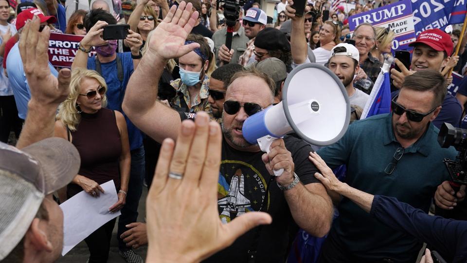 Electon 2020 Protests Phoenix