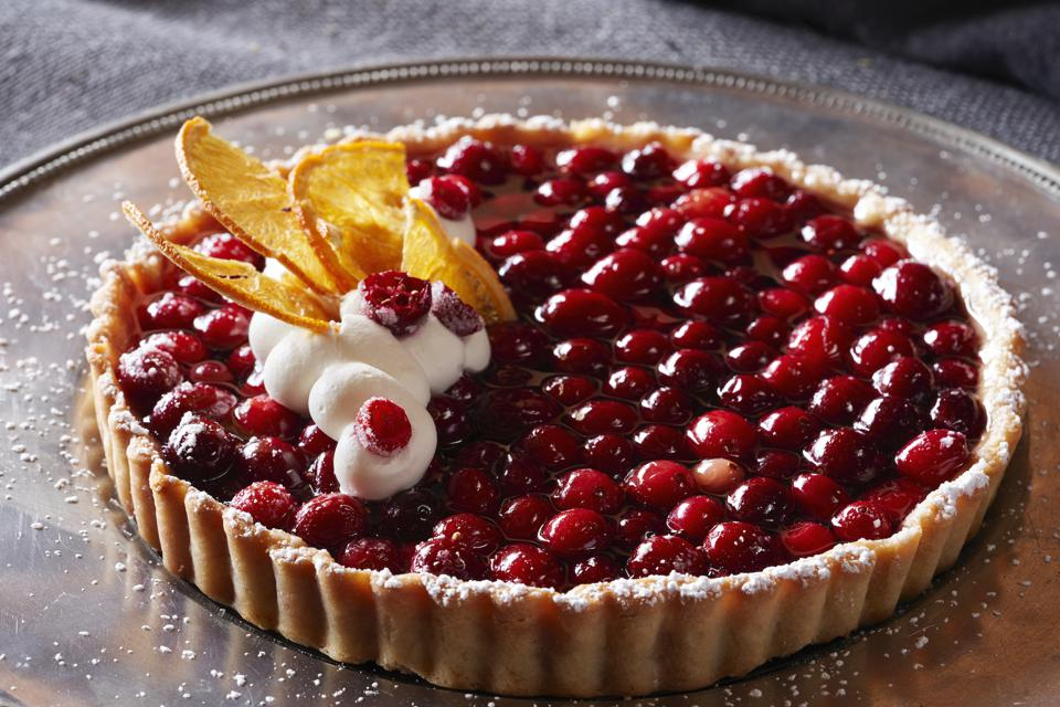 A holiday tart