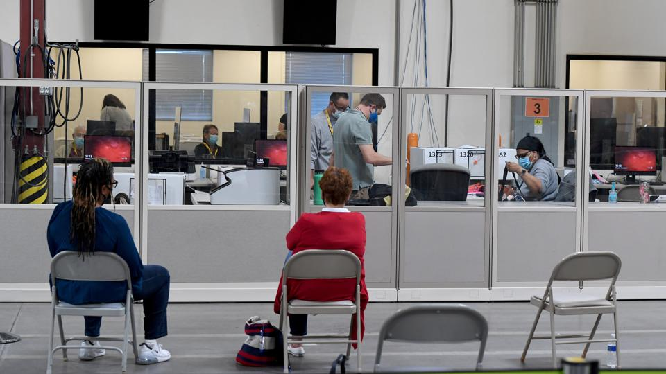 Clark County Election Officials Continue Vote Tabulation