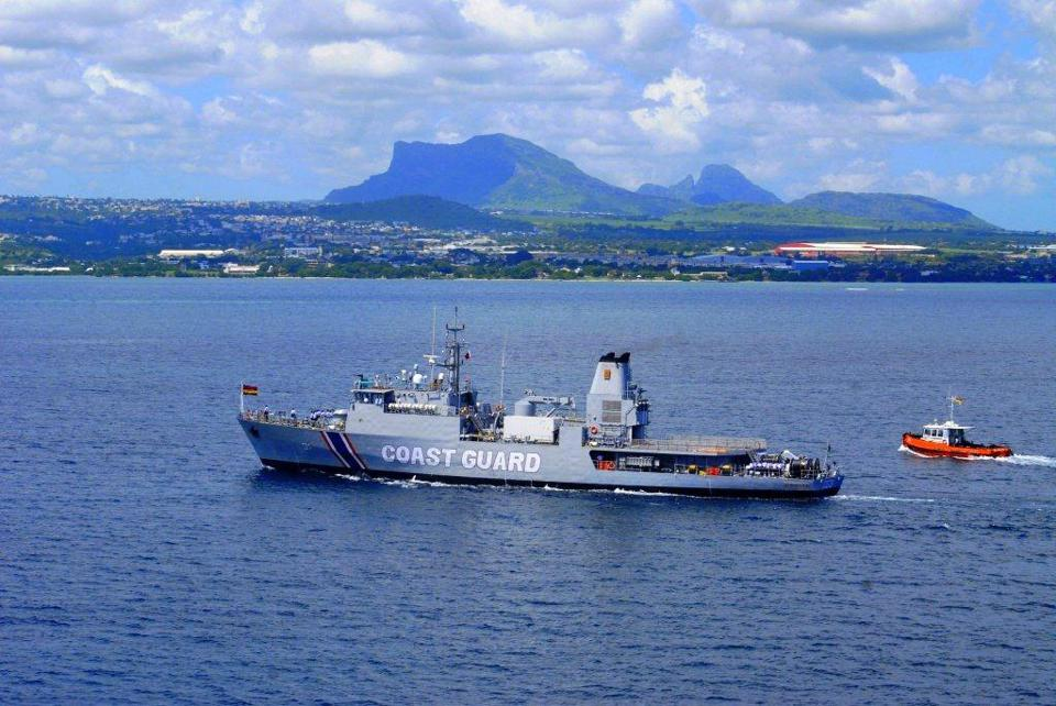 The Mauritian Coastguard is currently under the control of Indian Military Officers