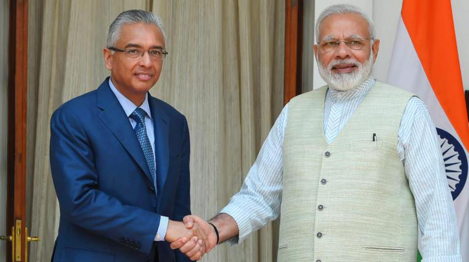 The Indian Prime Minister, Narendra Modi, has been exerting an increasingly stronger influence over Mauritius since Pravind Jugnauth and his father became Prime Minister