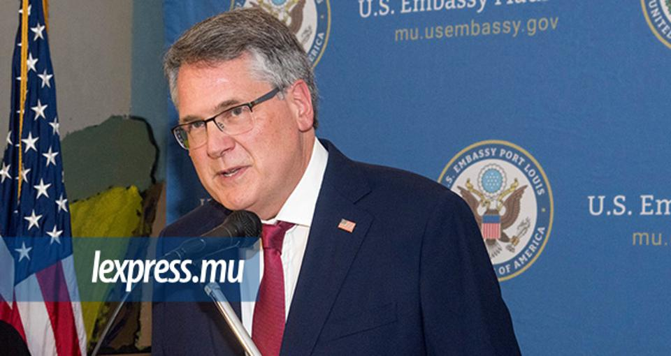 David Reimer, US Ambassador to Mauritius, had to clarify that the United States enjoys strong bilateral relations with Mauritius and has never threatened Mauritius