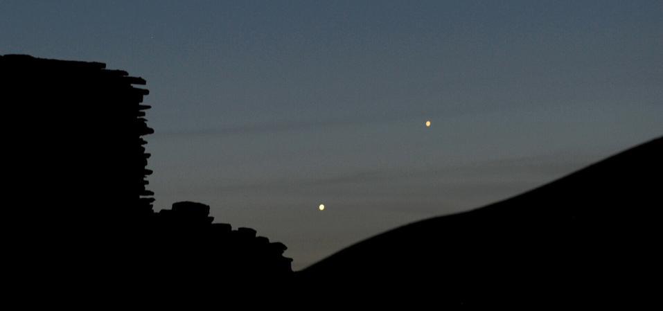 Look for Mercury below Venus before sunrise this week.
