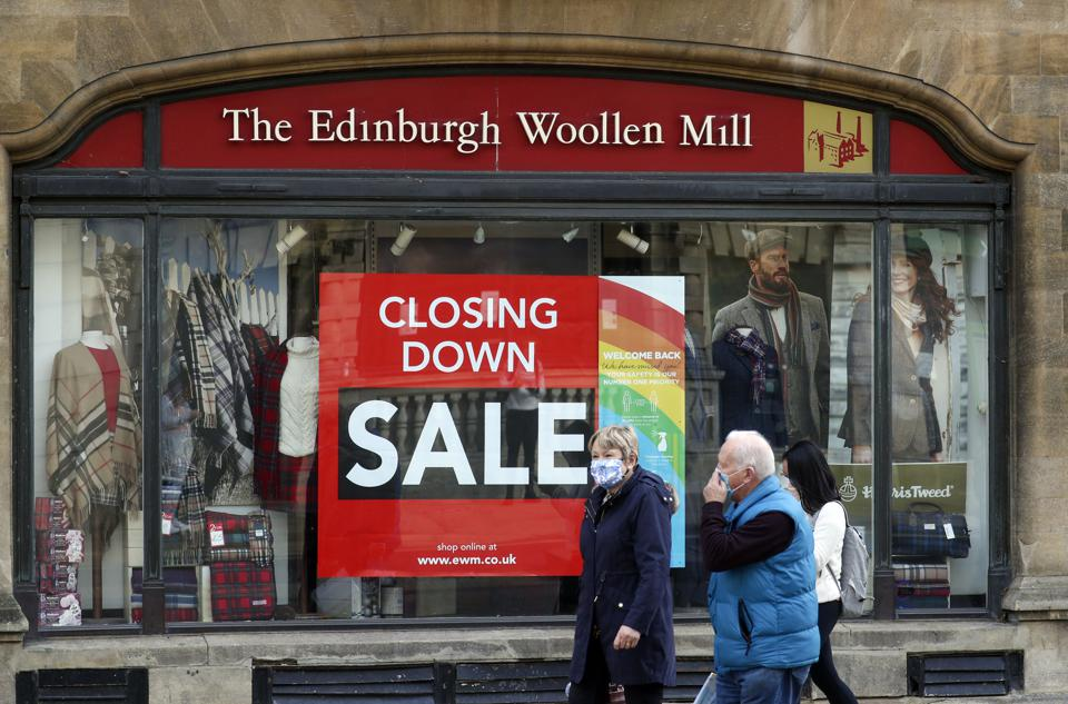 Days Numbered At Edinburgh Woollen Mill Group Two Brands Go Into Administration