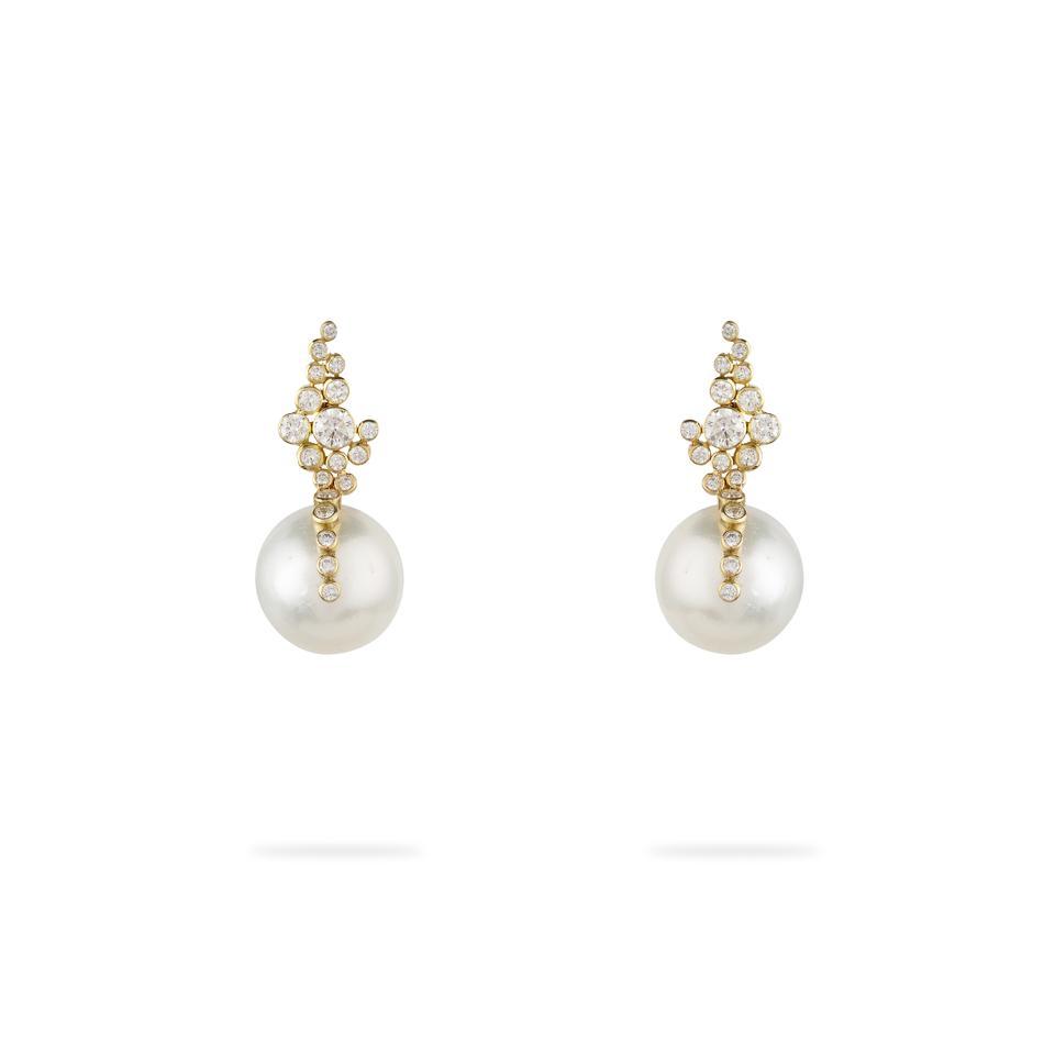 A pair of Jessie Thomas earrings