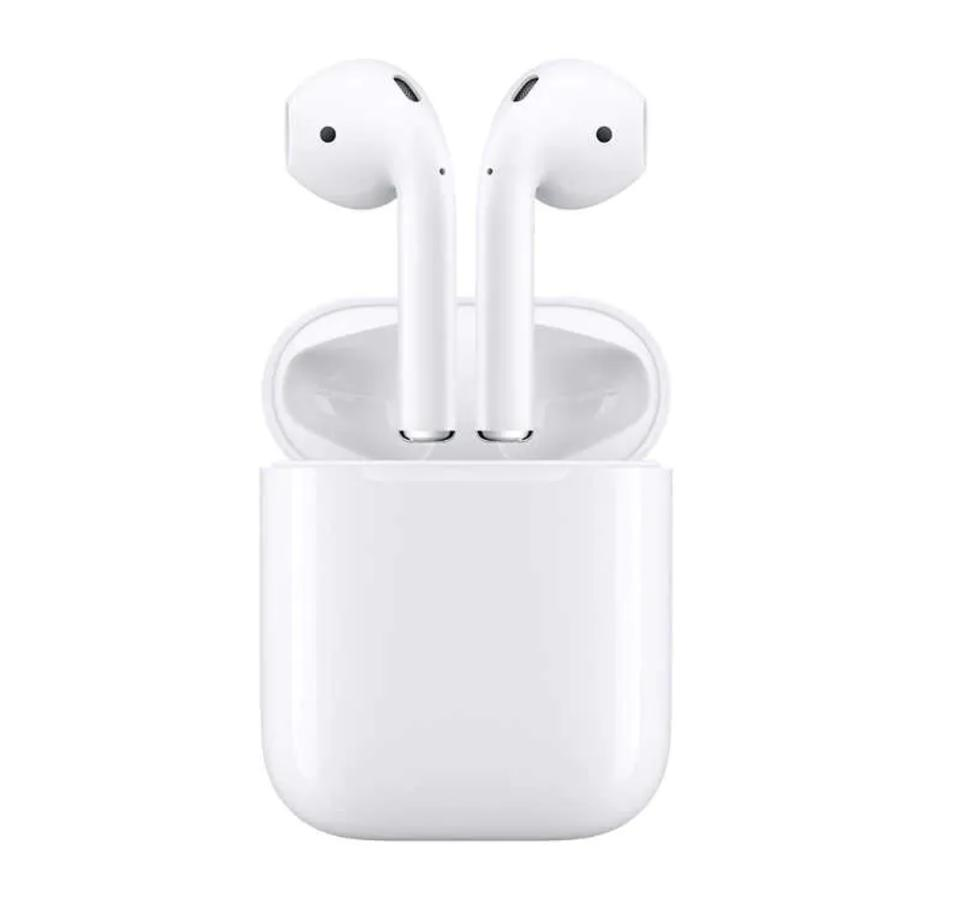 Apple AirPods Wireless Headphones with Charging Case (Latest Model)