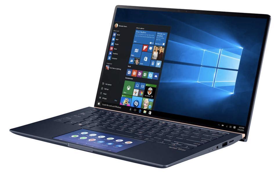 ASUS 14″ Zenbook UX434FLC Laptop - 10th Gen Intel Core i7-10510U - 1080p - Royal Blue