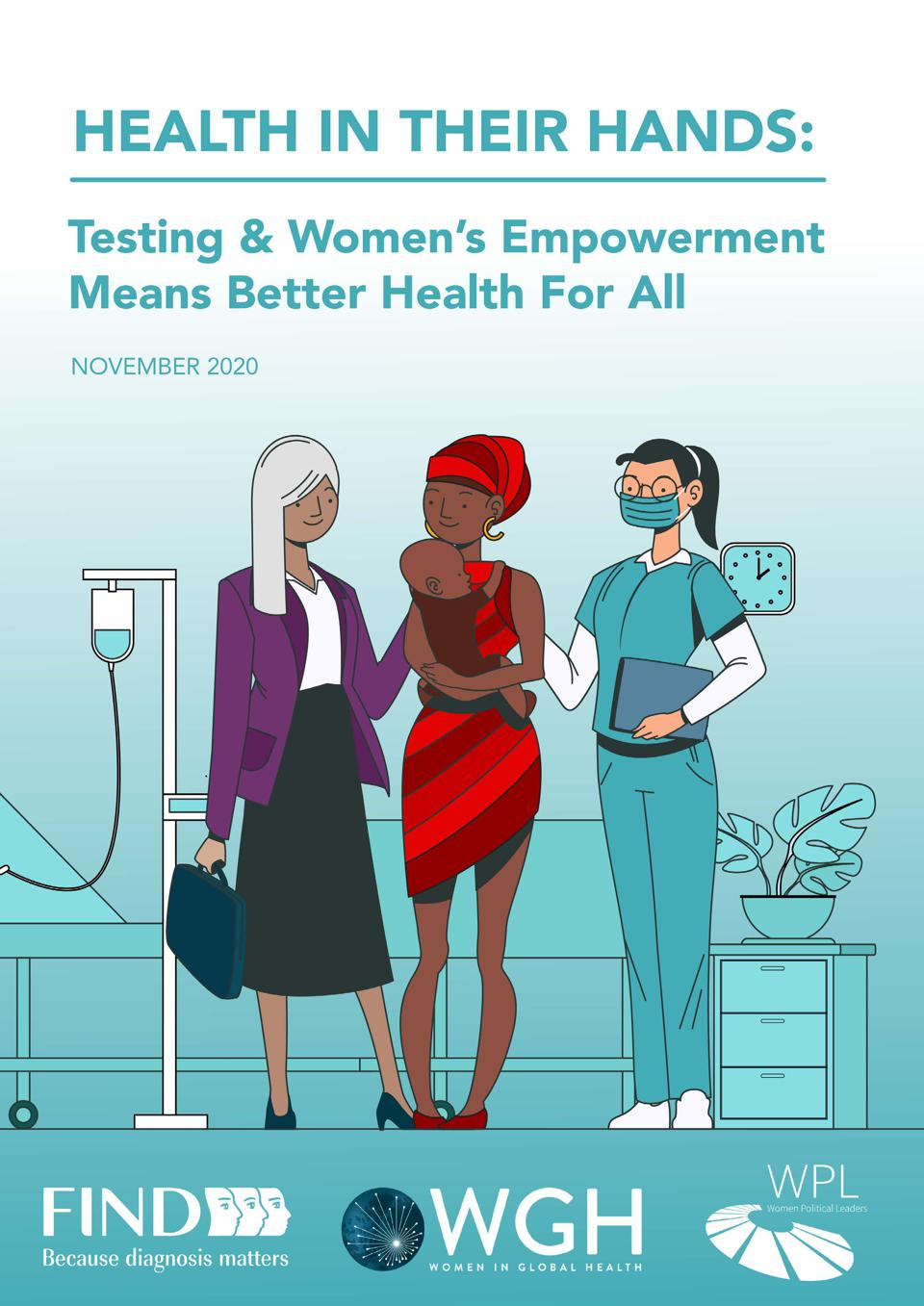 Report on testing and empowerment of women