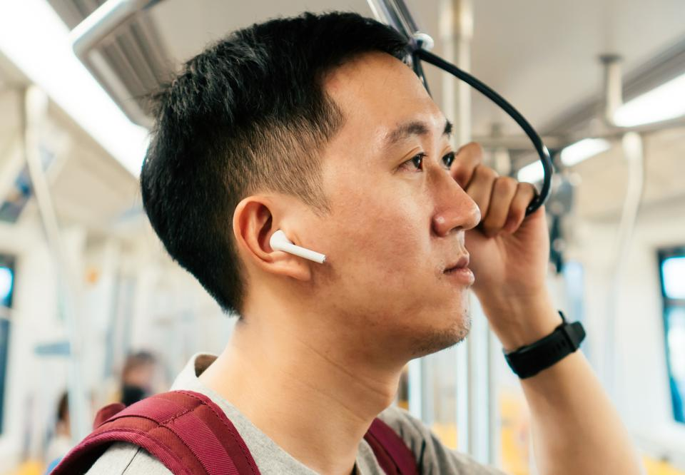 Japan trains AirPods