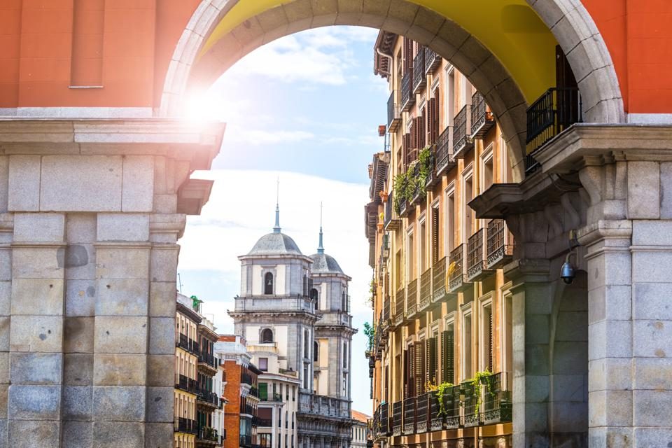 Best Places To Live In Europe: Gate in old town of Madrid