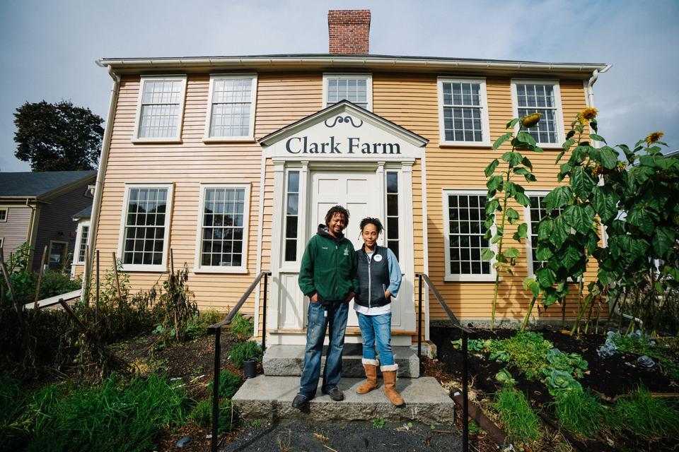 Urban farmers in Boston