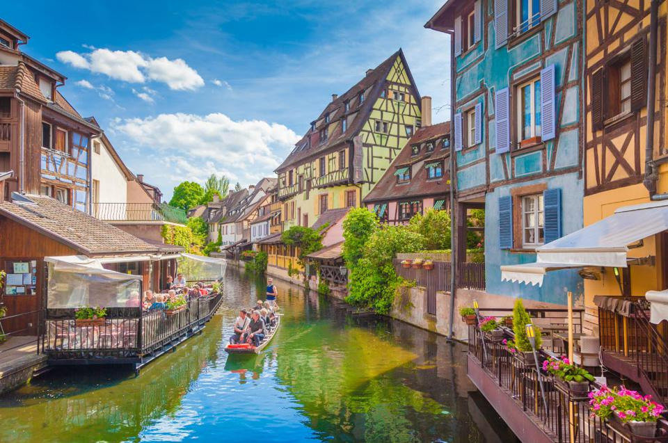 Best Places to live in Europe: the Alsace region in France